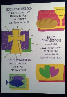 First Communion Card: General (2)