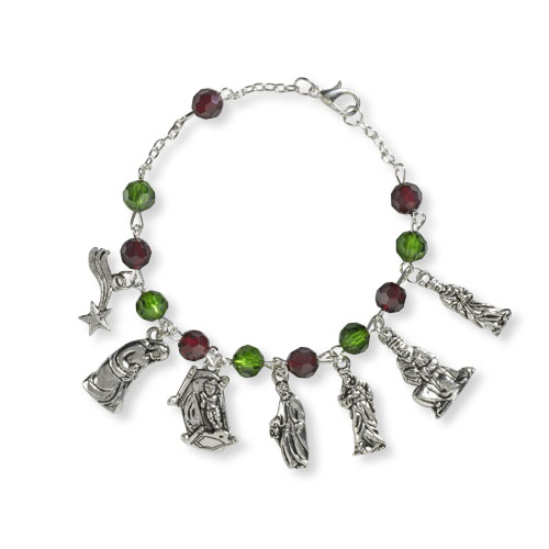 Heart of Christmas Bracelet