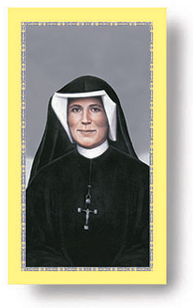 St. Faustina Holy Card (paper)