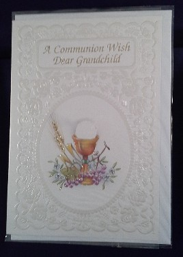 First Communion Card: Grandchild