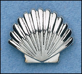 Baptismal Shell Lapel Pin
