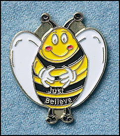 Just Beelieve Pin