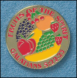 Fruits of the Spirit Pin