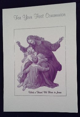 First Communion Card: General