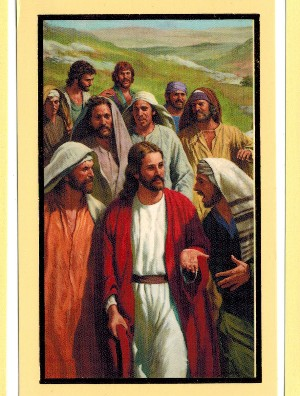 Jesus Holy Card (3)