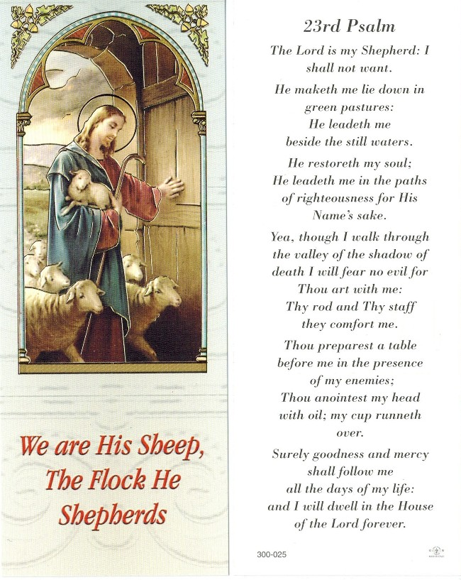 Good Shepherd Bookmark
