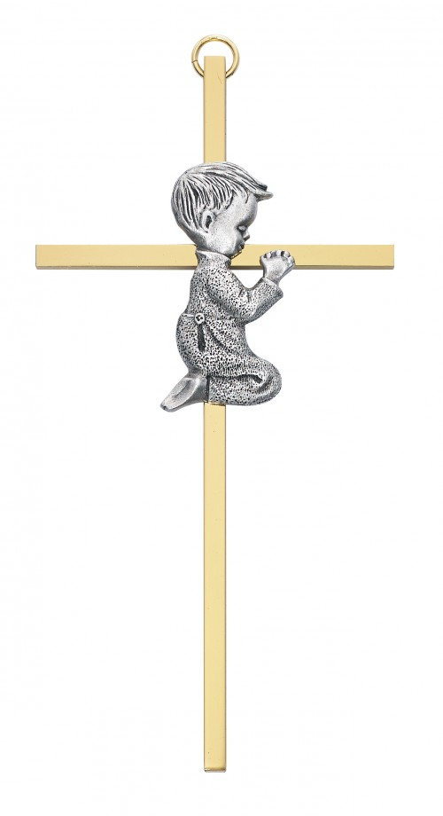 "6"" Two Tone Boy Cross"