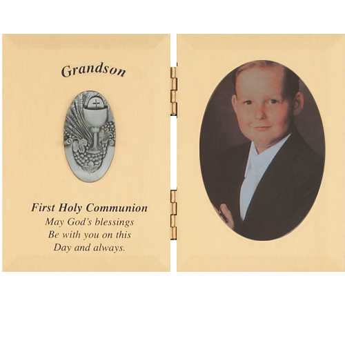 First Communion Frame: Grandson
