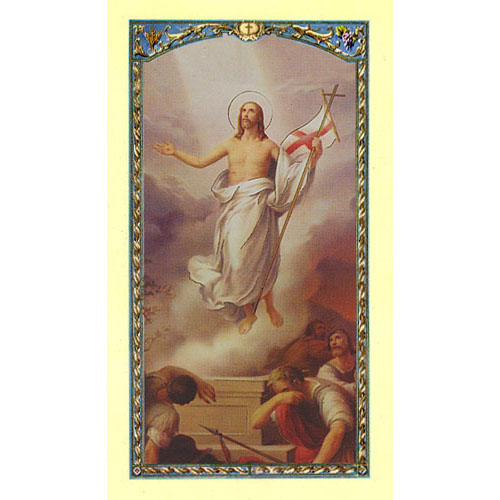 Easter Holy Card (421)