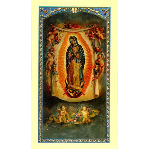 Prayer for the Helpless Unborn Holy Card
