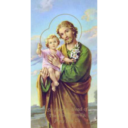 St. Joseph holy cards (101 series) 10 pack