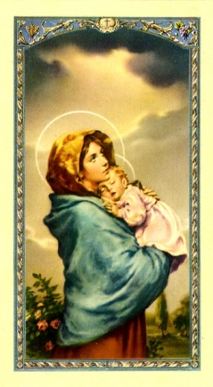 Prayer for Life Holy Card