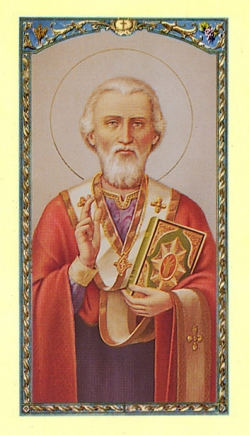 St. Nicholas Holy Card (10 pack)