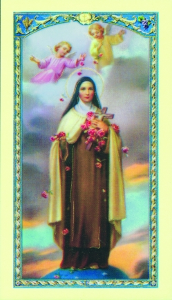 St. Therese Holy Card (470) (10 pack)
