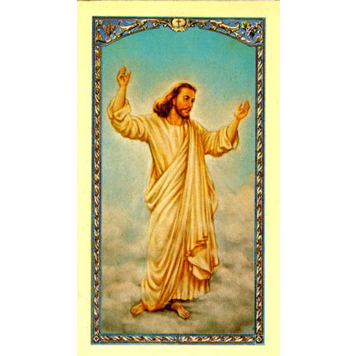 "Easter ""This Much I Love You"" Holy Card"