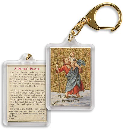 St. Christopher (Driver's Prayer)