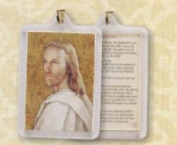 Head of Christ (Footprints) Keychain
