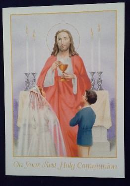 First Communion Card: General (3)