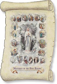Our Lady of the Rosary Magnet