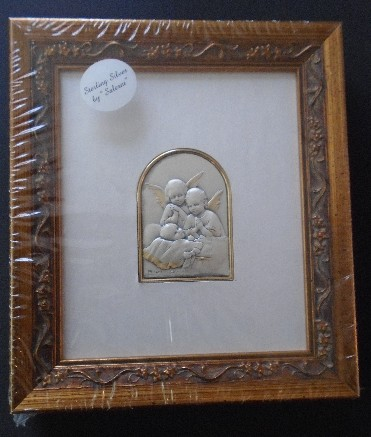 Salerni Guardian Angels at Bedside Frame