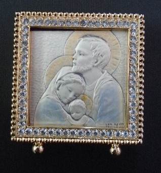 Salerni Holy Family Crystals Picture