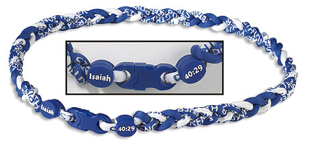 Isaiah 40:29 Power Armor Braided Sport Neckwear
