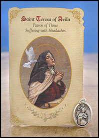 St. Teresa of Avila: Headaches