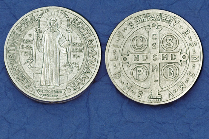 St. Benedict Medal Pocket Token