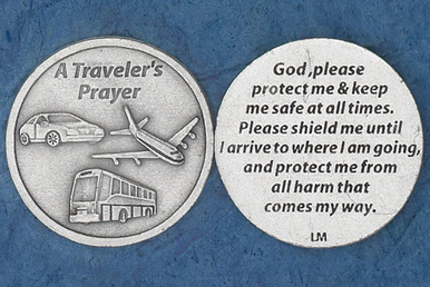 Traveler\'s Prayer Pocket Token