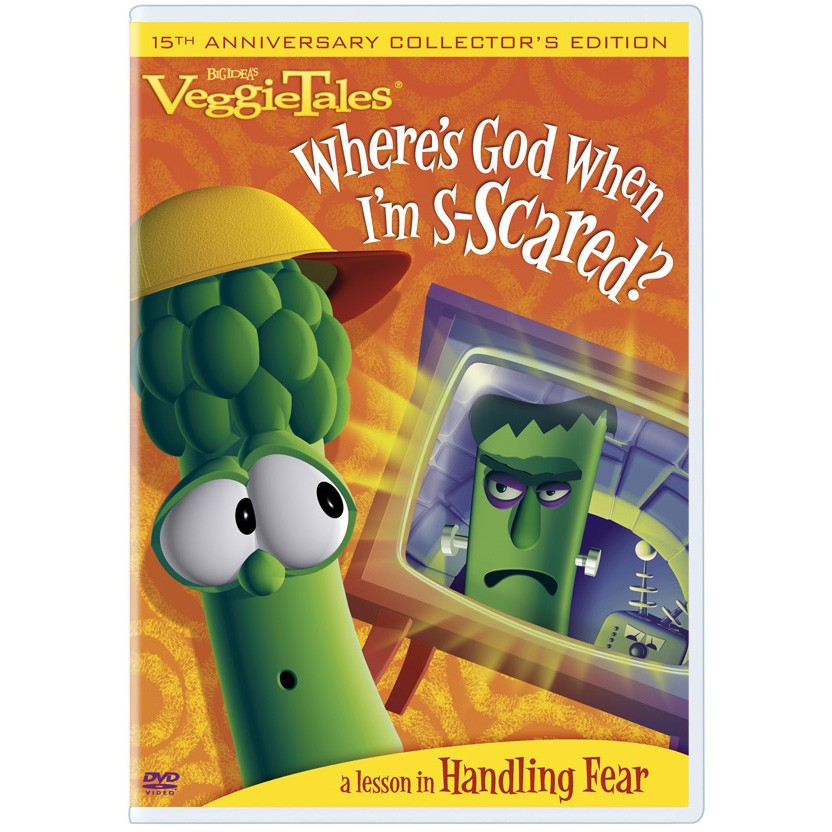 Veggie Tales: Where's God when I'm scared?